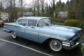 1958 chevy biscayne 4 door sedan impala u002758 through u002764