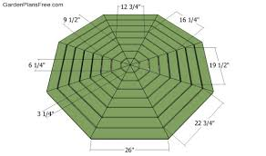 perfect octagon picnic tables plans and how to build a picnic