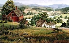 farm houses hills farm houses river valley wallpapers hills farm houses