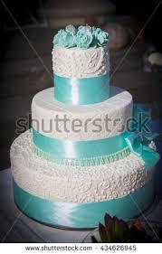 wedding table arrangement wedding cake mini stock photo 434626945