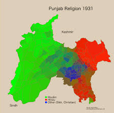 Religion World Map by A Closer Look At How Partition Changed Punjab U0027s Religious Map