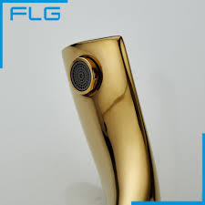 new design deck mounted gold painting basin water faucet tap with