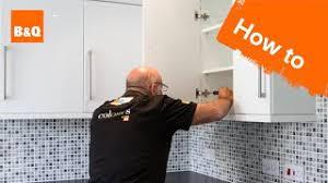 kitchen cabinet door hinges b q how to replace kitchen unit doors