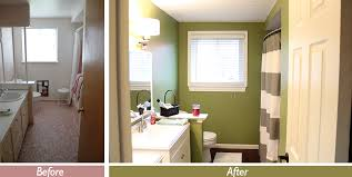 Bathroom Remodels Before And After Pictures by Bathroom Remodel For Under 1 500 This Nest Is Blessed