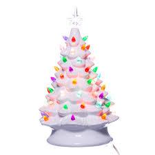 ceramic christmas tree with lights retro light up white ceramic christmas tree retrofestive ca