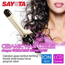 Catok Ikal harga sayota hc 8800 hair curly curler curling waving bar
