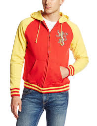 hbo u0027s game of thrones men u0027s got lannister zip front hoodie at