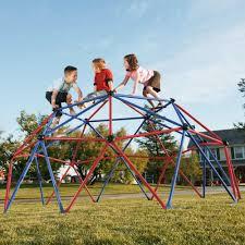 Costco Playground Lifetime Children U0027s Geo Dome Climber 101301 Playground Primary Colors
