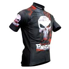 motocross jersey printing 2018 black skull sublimation printing cycling jersey wear best