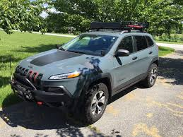 jeep renegade trailhawk lifted roof rack and tool mounts 2014 jeep cherokee forums