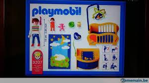 playmobil chambre b playmobil 3207 b maman et chambre de bébé a vendre 2ememain be