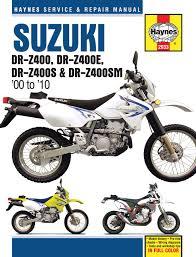 suzuki dr z400 00 05 dr z400e 00 09 dr z400s 00 10 u0026 dr