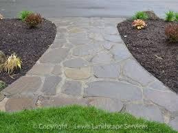 Flagstone Patios And Walkways Lewis Landscape Services Beaverton Oregon Flagstone Slate