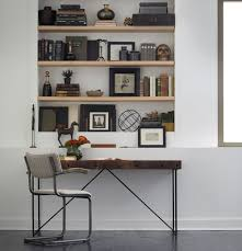 Modern Wood Office Desk Wright Industrial Modern Wood Office Desk Zin Home