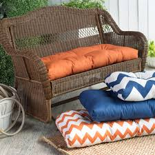 Outdoor Furniture Cushions Furniture Appealing Wicker Chair Cushions For Cozy Patio