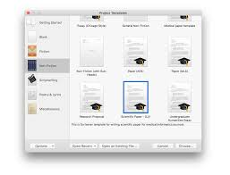scientific paper writing software importing a scrivener template for scientific papers daniel vreeman if you are importing my template for writing scientific papers you ll find it under the non fiction category