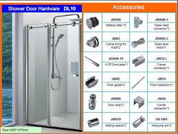tempered glass door hardware tough glass sliding shower door hardware dl10 hinge tempered glass