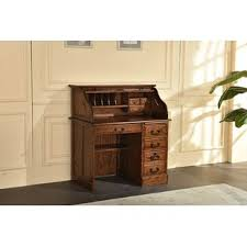solid oak roll top desk solid oak roll top desk wayfair