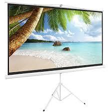 projection screens amazon com projector screen stand amazon com