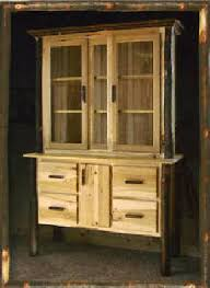 amish built rustic china cabinets u0026 hutches