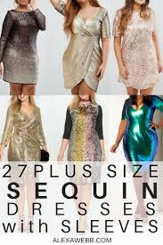 glitter dresses for new years 27 plus size sequin dresses with sleeves webb