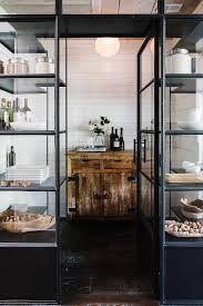 Glass And Steel Kitchen Display Cabinets Design Ideas - Kitchen display cabinet