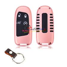 rose gold jeep cherokee rose gold aluminum remote smart key fob cover for jeep cherokee