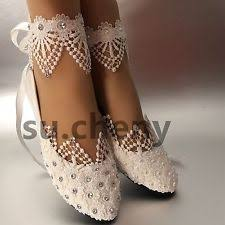wedding shoes flats ivory flat 0 to 1 2 in pumps classics bridal shoes ebay