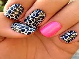 Nail Designs Cheetah Zebra And Cheetah Nail Designs Nail Ideas 101