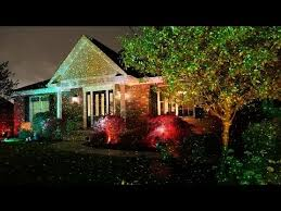 Outdoor Projection Lights For Christmas Review Star Shower Outdoor Laser Christmas Lights Star Projector