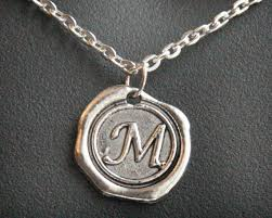mens personalized necklace personalized gift jewelry initial necklace monogram pendant