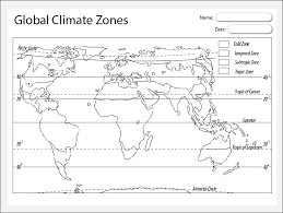 global zone map global climate zones map theme based learning skills