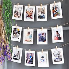 hanging pictures with wire and clips dremisland photo hanging display string and pegs diy picture