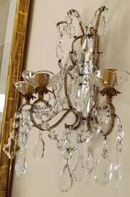 wall sconce candelabra 3 candle home interior vintage ebay interior design for crystal wall sconces for candles architecture