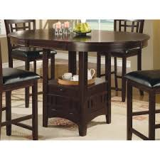 counter height dining table with storage fancy design dining room table with storage lovely perfect set