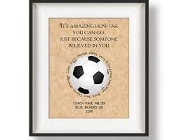 soccer coach gift etsy