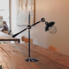 black adjustable arm desk lamp cl 33390 e2 contract lighting uk