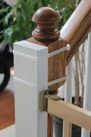 Baby Gates For Bottom Of Stairs With Banister Beauty In The Ordinary Installing A Baby Gate Without Drilling