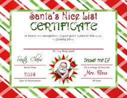 Printable Santa List Templates 28 Free Printable Santa Certificate Template Free Printable