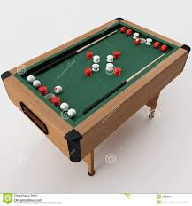 Bumper Pool Tables For Sale Bumper Pool Table Stock Photography Image 13043692