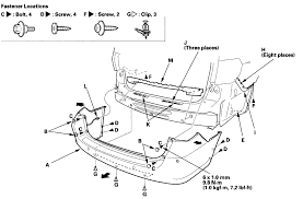 honda odyssey rear bumper how do i change the rear parking sensor on an 07 odyssey