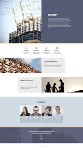 Architecture Company New Templates Premium Construction Company Template Set