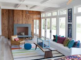 eclectic living room with television fireplace sx rend hgtvcom