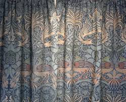 haslam and whiteway morris wool tapestry curtains