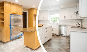home depot reface kitchen cabinets reviews cabinet refacing baton n hance wood refinishing of