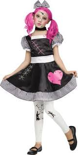 wind up doll costume for kids doll costumes pinterest
