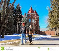 Nau Campus Map A Young Couple At Northern Arizona University Editorial Stock