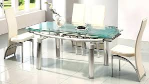 rectangle glass dining room table mid century modern glass dining table acoa2015 com