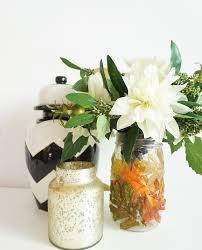 jar vase diy mod podge jar vase for fall