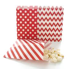 bulk halloween treat bags amazon com red party bags paper christmas candy treat bags